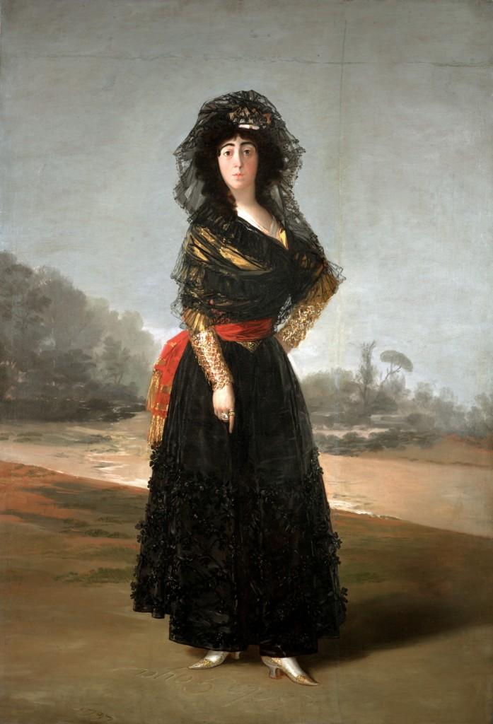 'The Duchess of Alba, 1797