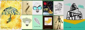 Postales basadas en obras literarias