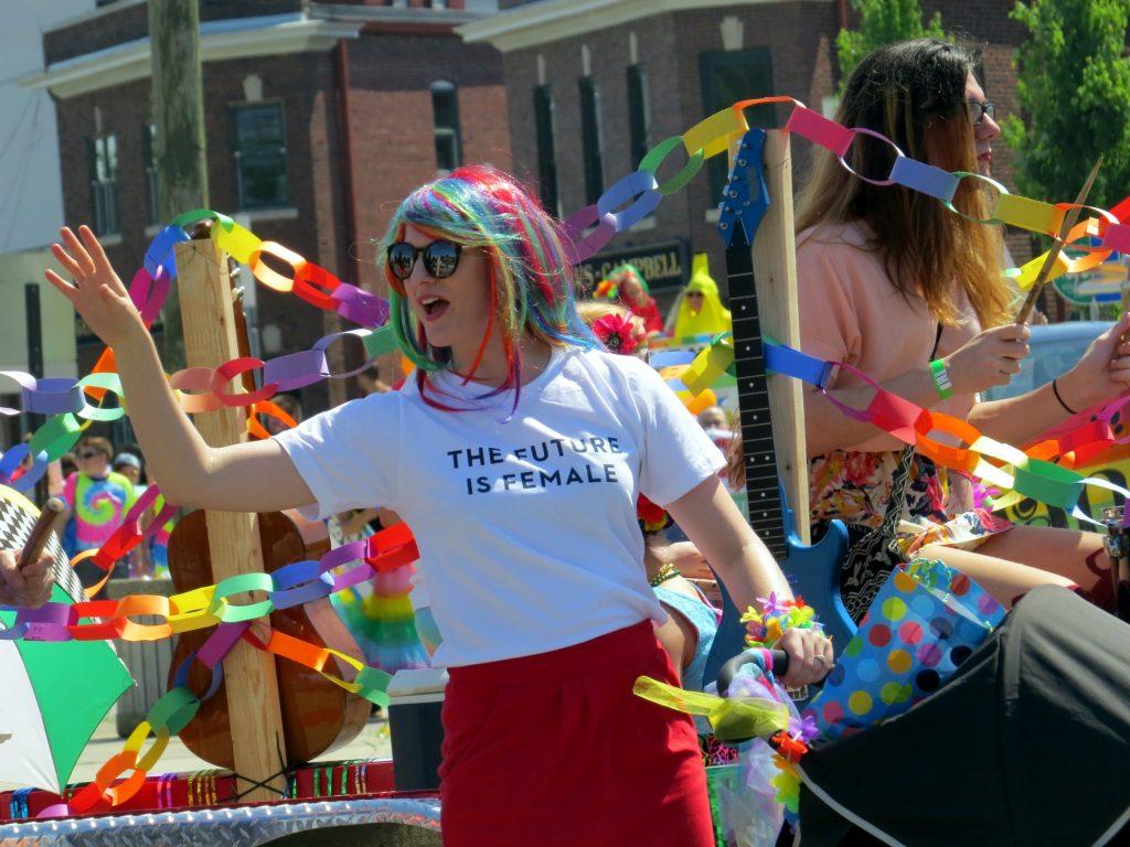 Manifestación LGTB por el orgullo de ser lo que se es
